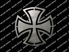 Iron Cross #1 Hot Rod Motorcycle Biker Rat Rod WWII Emblem Badge Metal Gusset