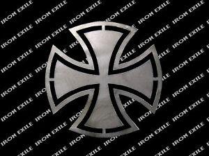 Metal Emblem Badge Patch Punk Rock Rocket Hot Rat Rod Chopper Biker F BOMB