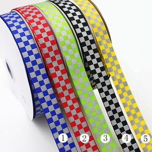 25-mm-Reflexband-Reflektorband-Reflexborte-Reflexstreifen-5-Farben