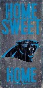 5ca0d8856 Carolina Panthers Home Sweet Home Wood Sign 12