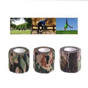 Army-Camo-Outdoor-Hunting-Shooting-Tool-Camouflage-Stealth-Tape-Waterproof-Wrap