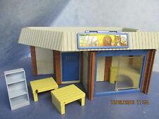 Tierhaus Gebäude aus Set 3634 mit 3 x Podest Zoo Playmobil 4508