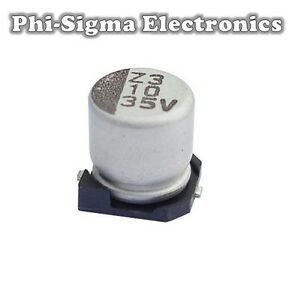 Packs of 10 Various Values Electrolytic Capacitors Voltages