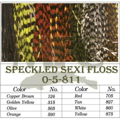 Medium Barred Sexi-Floss Red MFC Montana Fly Company