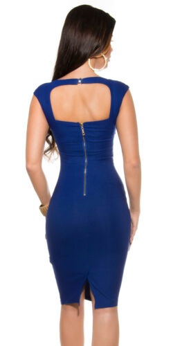 KouCla pencilkleid avec häkelborte robe de soirée robe de fete XS S M 34 36 38