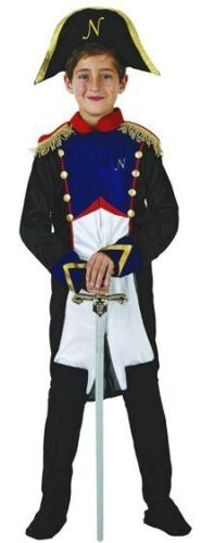 Costume Boy General Napoleon 7//8//9 Years Child Empire New Cheap