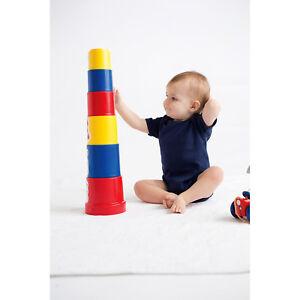 9ee92c466115 Image is loading Larkwood-Short-Sleeve-Baby-Bodysuit-Bottom-Popper-Fastening -