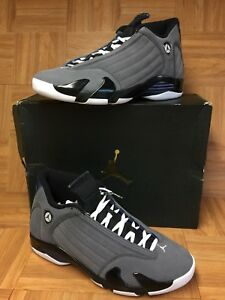 Graphite Le Navy Light 14 Sz 011 Jordan Retro 311832 12 Xiv Nike Gray Air Vntg qf0w4R