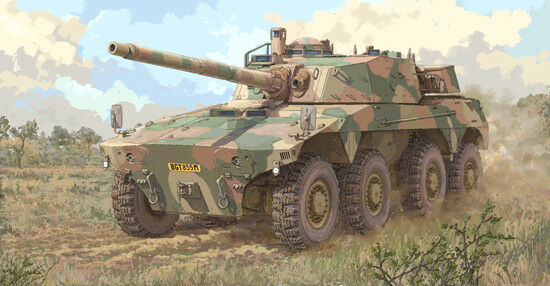 Trumpeter 1 35 South African Rooikat AFV