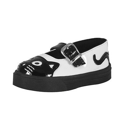 Bebé Kitty Mary Jane Sneaker patente Bebé Blanco Mary Jane eu21.5 / UK5 a8074b