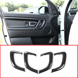 Carbon-Fiber-Style-Door-Handle-Frame-Decor-Trim-For-Land-Rover-Discovery-Sport