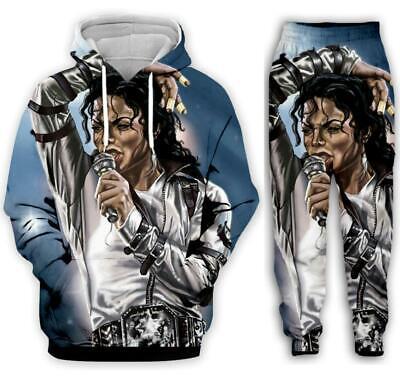 Details about  /Mens Womens 3D print Guitar Musical Sweatshirt Hoodies Jogging pants Sport Suit