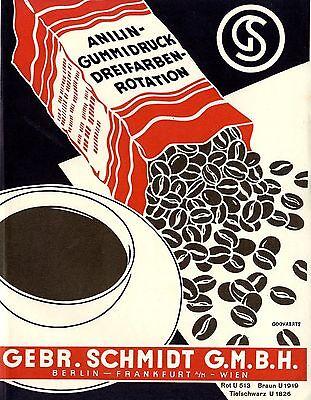 Brillant Gebr.schmidt Berlin Anilin-gummidruck LikÖr Tabak Historische Reklame Von 1937 Durchblutung GläTten Und Schmerzen Stoppen Originalwerbung Vor 1950 Reklame & Werbung