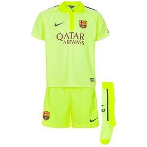 82faec4fd Barcelona Baby Soccer Kit Nike Barca Football Shirt Shorts Socks NEW ...
