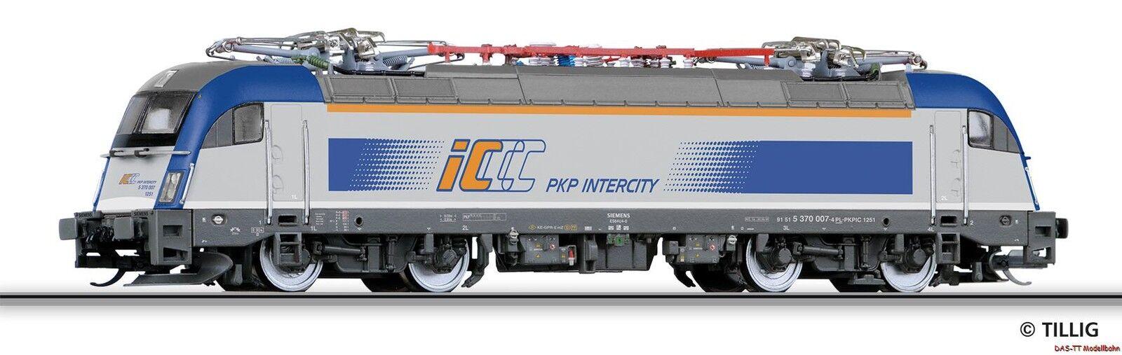 TT E-Lok BR 370 PKP-IC EP. vi Tillig 04953 NUOVO