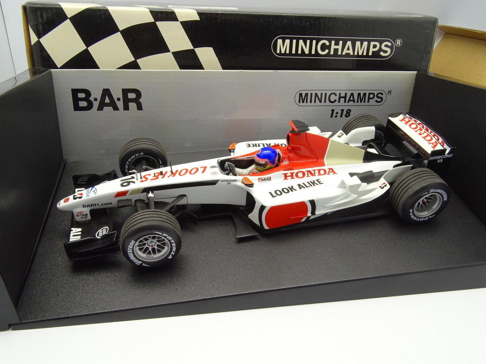 Minichamps 1 18 - F1 BAR Honda 005 Villeneuve
