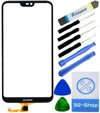 Huawei P20 lite Digitizer Touchscreen Display Glas Scheibe Ersatz - Schwarz