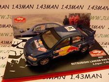 voiture 1/43 IXO altaya Rallye Monte Carlo MITSUBISHI Lancer EVO IX 2007 Aigner