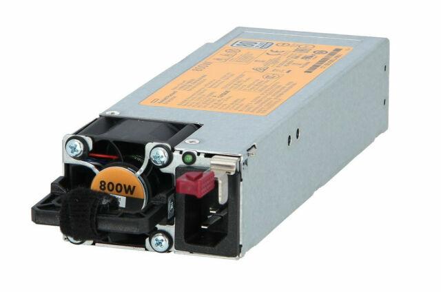HP 800W Gen9 G9 Flex Slot Platinum 80 Plus Power Supply720479-B21 754381-001