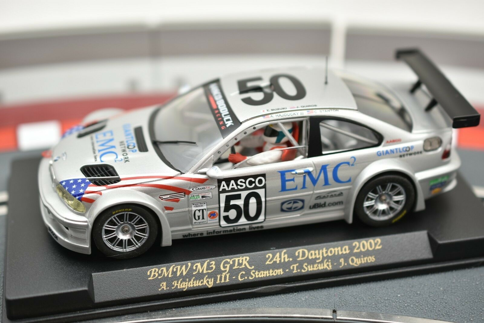 88009 FLY CAR MODEL 1 32 SLOT BMW M3 GTR 24H DAYTONA 2002 A-285