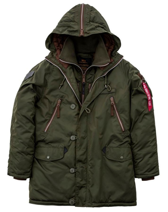 507cbab11 Alpha Industries Discover Chaqueta 178143 257 2018 New York Ártico Nuevo  nyhwst3014-Coats & Jackets