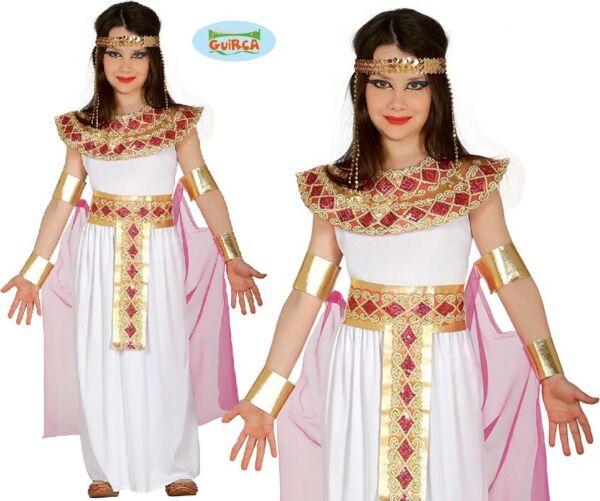 Intelligente Bambini Egiziano Costume Per Bambina Bambine Cleopatra Tipo Vestito Fg Aspetto Elegante