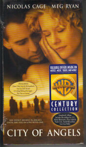 City of Angels VHS NEW - Meg Ryan Nicolas Cage ~ 085391697237 Romance 1998 PC