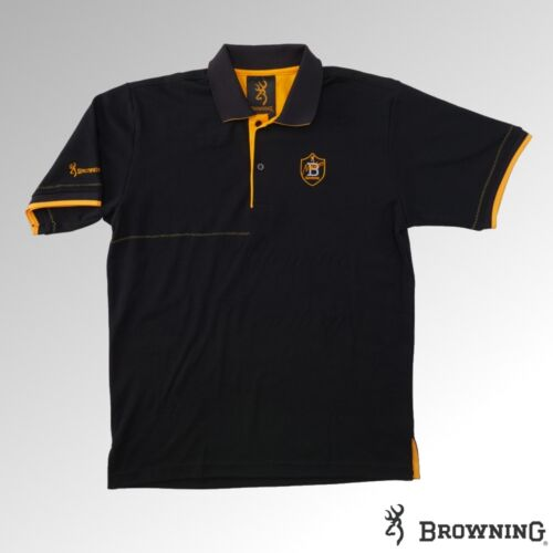 Browning Polo Shirt Masters 2 Black 30190090xx