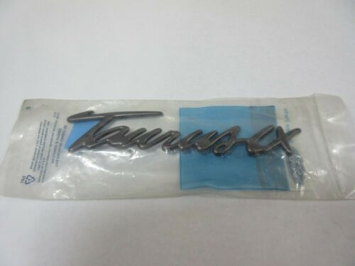 NOS OEM Ford Taurus LX  Station Wagon Grey Lift gate Name Plate Emblem 96 Right