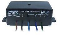 12V 3AMP Sensor activado por luz Interruptor Crepuscular, Luz sensible