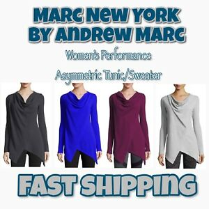 034-Marc-New-York-034-Women-039-s-Thermal-Tunic-Sweater-Andrew-Marc-Variety