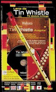 Waltons-Irish-tin-whistle-034-aleman-034-con-lehrheft-amp-CD