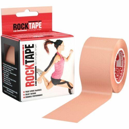 5m Rocktape Adhesive Kinesiology Tape in Beige Hypoallergenic