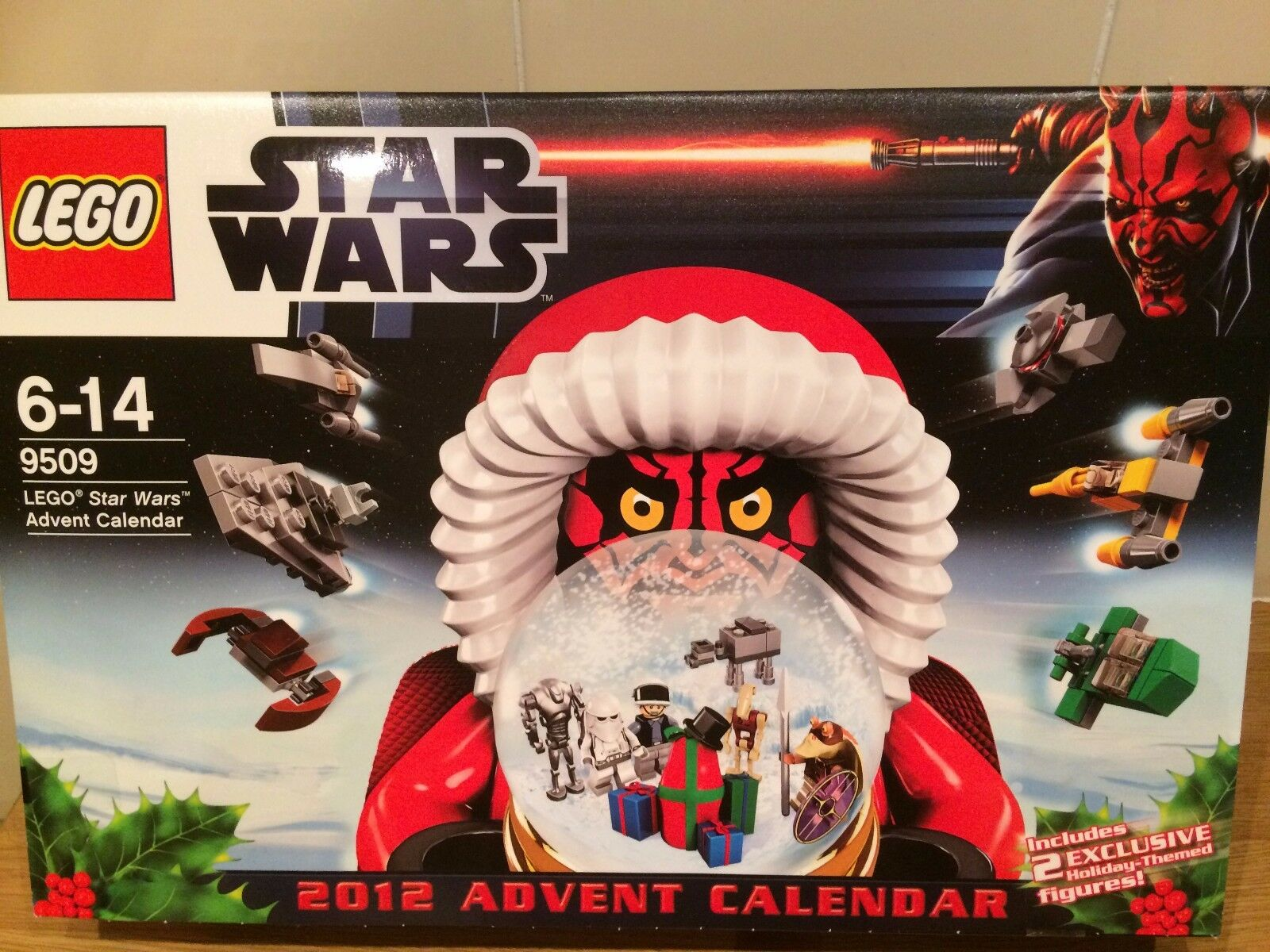 LEGO  9509 Star Wars Advent Calendar  new sealed