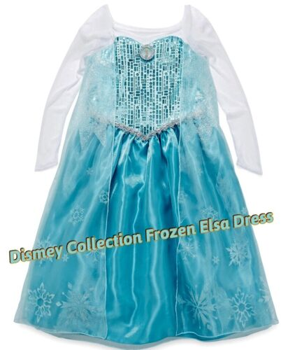 Disney Collection Frozen Snow Queen Elsa Costume Dress 5//6 7//8,10 Size 4