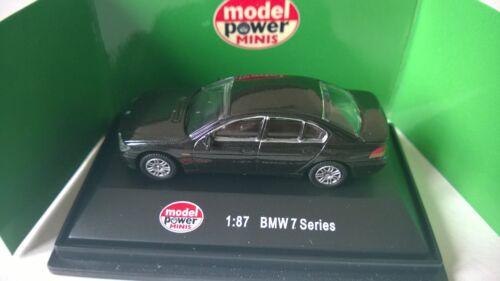 19060 Voiture miniature tout métal BMW série 7 HO 1/87