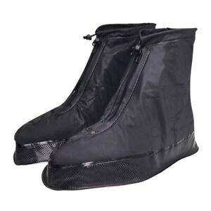 Copriscarpe-per-Uomo-Donna-Stivali-da-Pioggia-Impermeabili-con-Bordo-Spesso-Y2K7