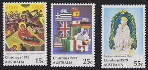 Australia-Post-Design-Set-MNH-Decimal-Christmas-1979