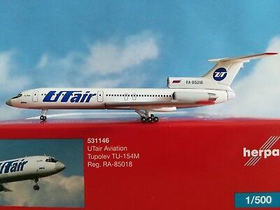Herpa Wings 1:500 TU-154M Utair 531146