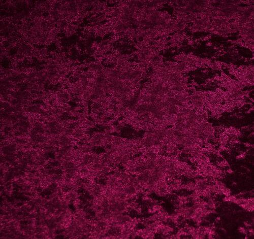 Mv28 Magenta Crush Velvet Sofa Seat Patio Bench Box Cushion Bolster Cover//Runner