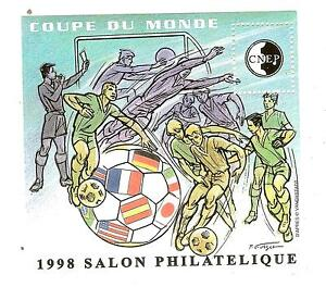 BLOC-CNEP-N-26-SALON-PARIS-1998-COUPE-DU-MONDE-FOOTBALL