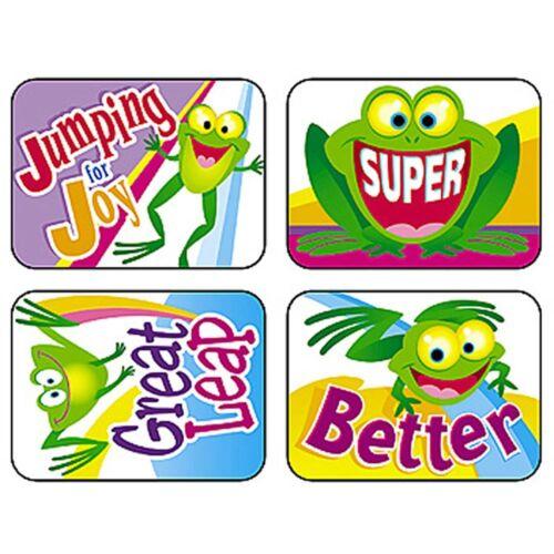 T-47098 Friendly Frogs Applause STICKERS® Trend Enterprises Inc