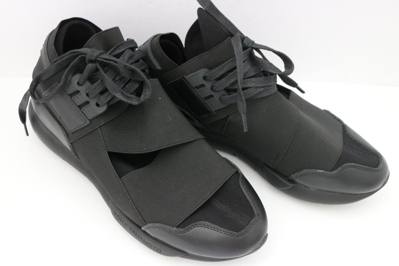 Adidas Men's Shoes Y-3 Qasa High Yohji Yamamoto M21248 Sz 9.5 NEW NWOB FREE SHIP