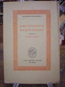 (bibliografia) Falqui: Bibliografia Dannunziana