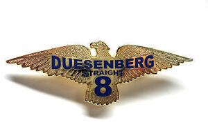 duesenberg straight 8 emblem