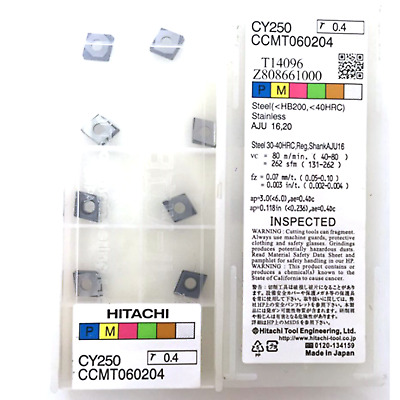 RDMT10T3MOTN milling cutter inserts carbide insert 10pcs RDMT10T3M0TN CY250