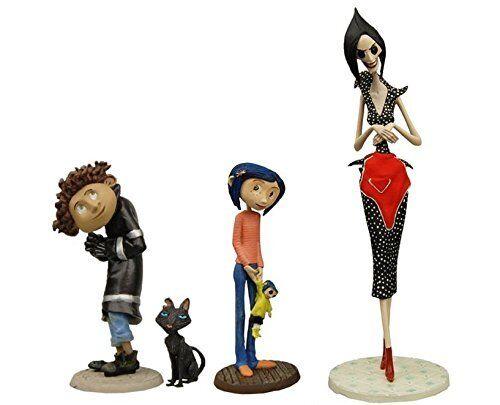 Other Mother Cat Coraline -Best of PVC Mini-Figure Set Wybie /& Coraline NECA