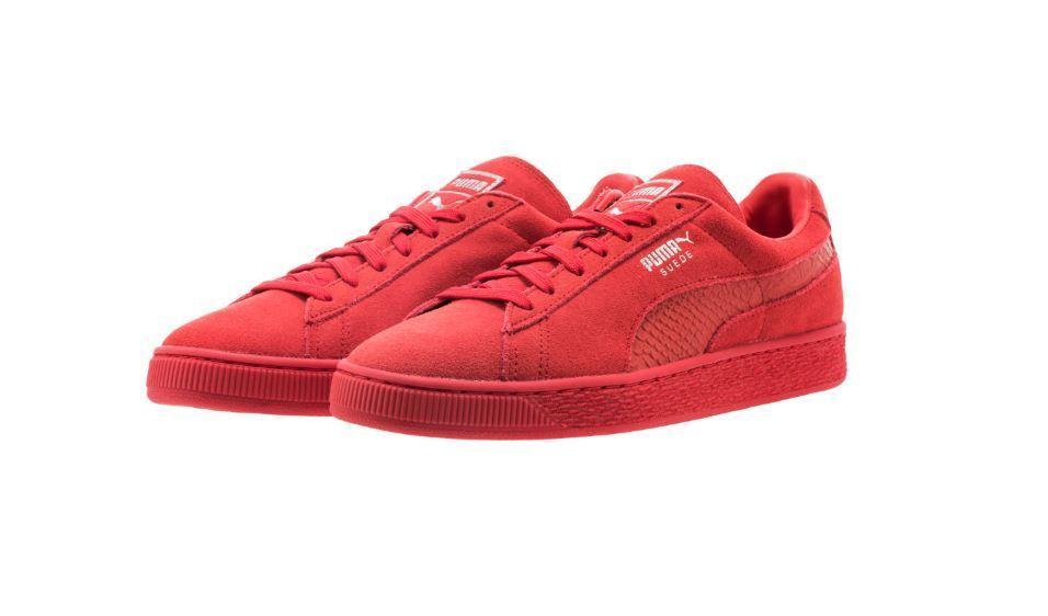 PUMA Suede MOno Reptile hommes Chaussures 363164 05 Sz4-13 Fast ship L