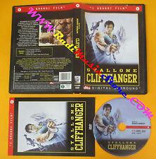 DVD film CLIFFHANGER Silvester Stallone Renny Harlin CECCHI GORI no vhs (D4)