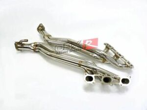 Details about OBX Long Tube Header For 2008-2019 Nissan 370Z Infiniti G37  Coupe VQ37VHR 3 7L